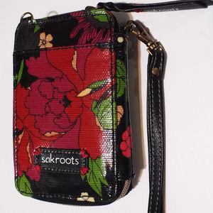SAKROOTS Wallet floral